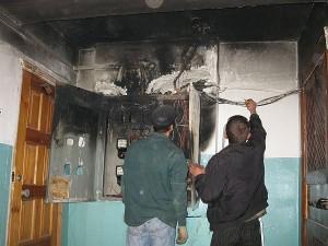 экспертиза электрощита, пожаров